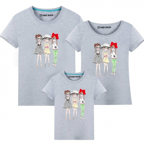 Fashión girls t-shirt