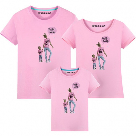 Camiseta Mom life is the best life- Niña