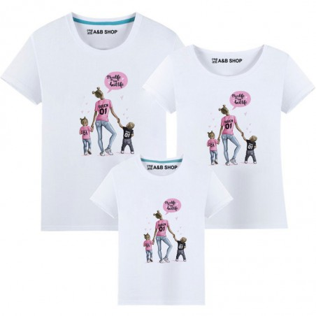 Mom life is the best life T-shirt -Boy-girl