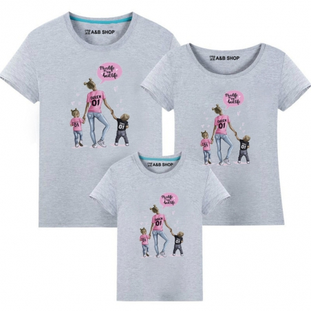 Camiseta Mom life is the best life -Niño-niña
