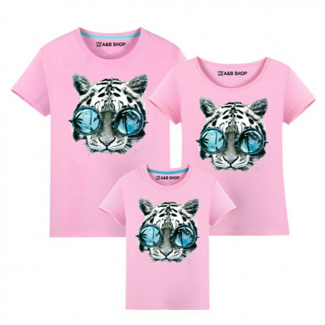 Tiger glasses t-shirt