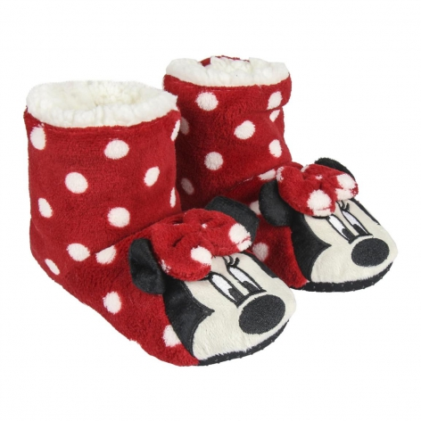 Zapatilla de casa bota Minnie