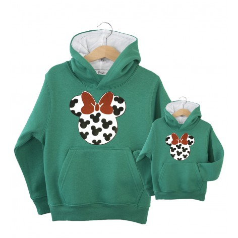 Sudadera bicolor Minnie mouse